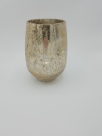 Gold Crackle Vase