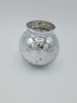 Silver Globe Votive