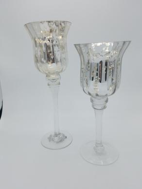 Silver Mercury Goblets