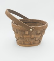 Wicker Flowergirl Basket