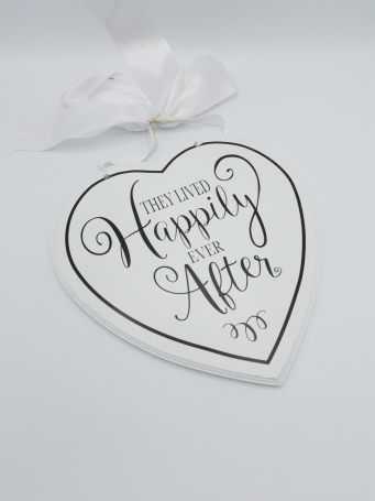 Here Comes the Bride & Happily Ever After Sign